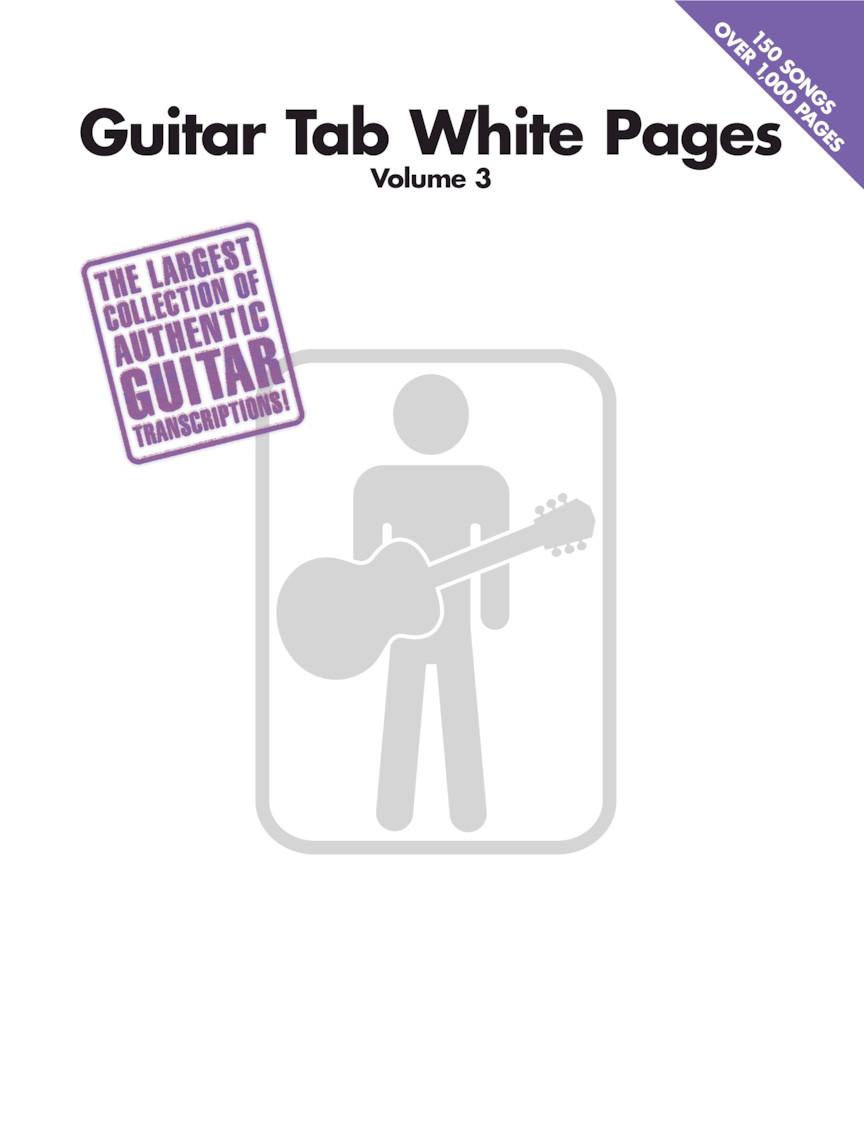 Guitar Tab White Pages Volume 3 | Hal Leonard Online