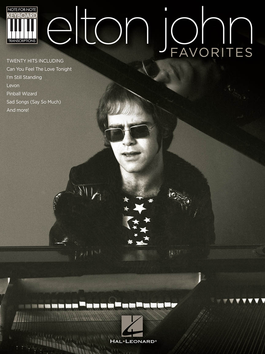 Product Cover for Elton John Favorites