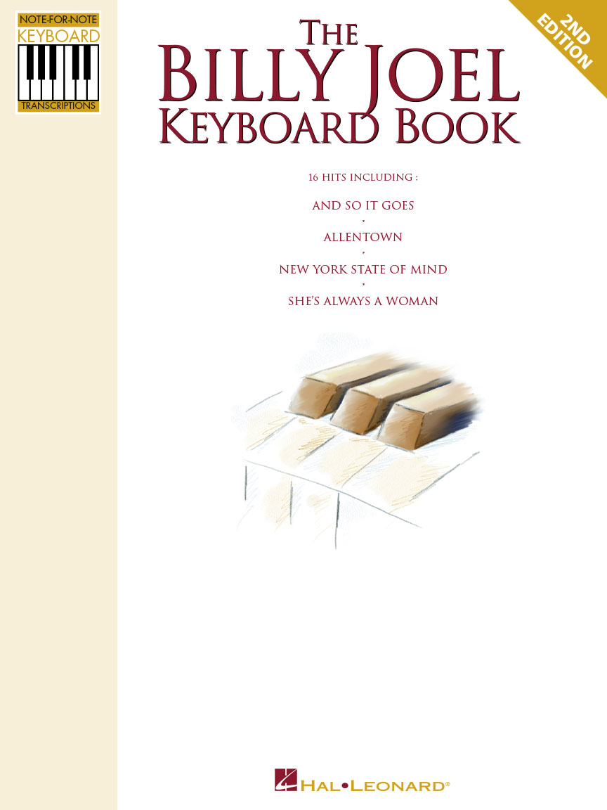 Product Cover for The Billy Joel Keyboard Book