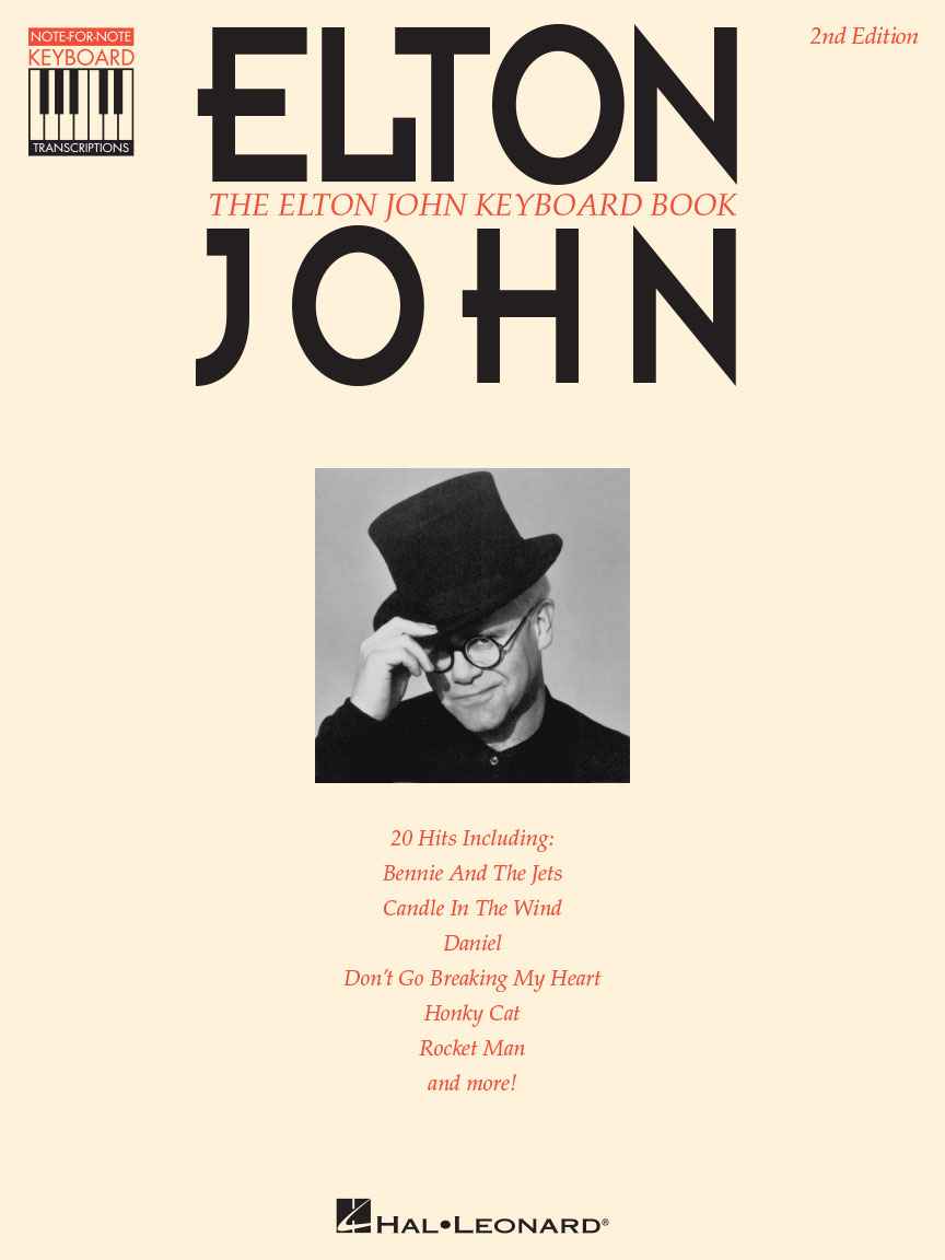 Product Cover for The Elton John Keyboard Book