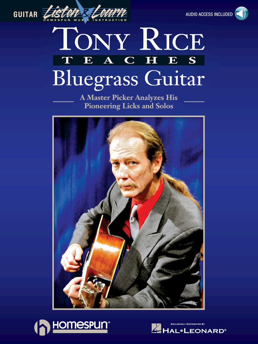 Product Cover for Tony Rice Teaches Bluegrass Guitar