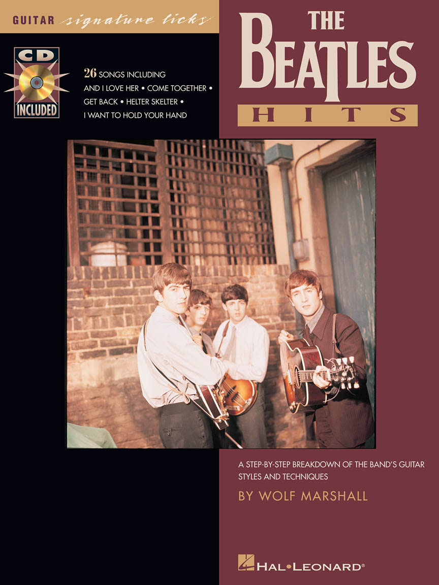 Product Cover for The Beatles Hits – Signature Licks