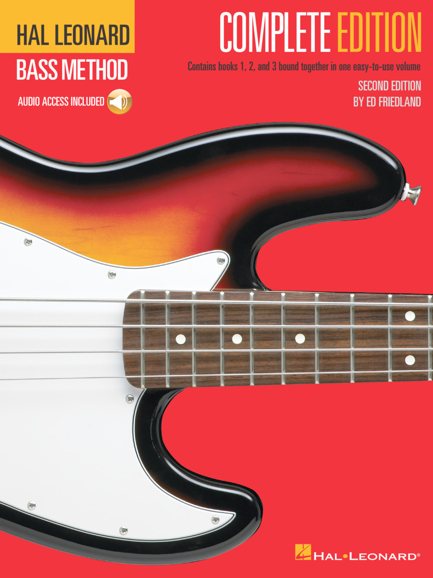 Product Cover for Hal Leonard Bass Method – Complete Edition