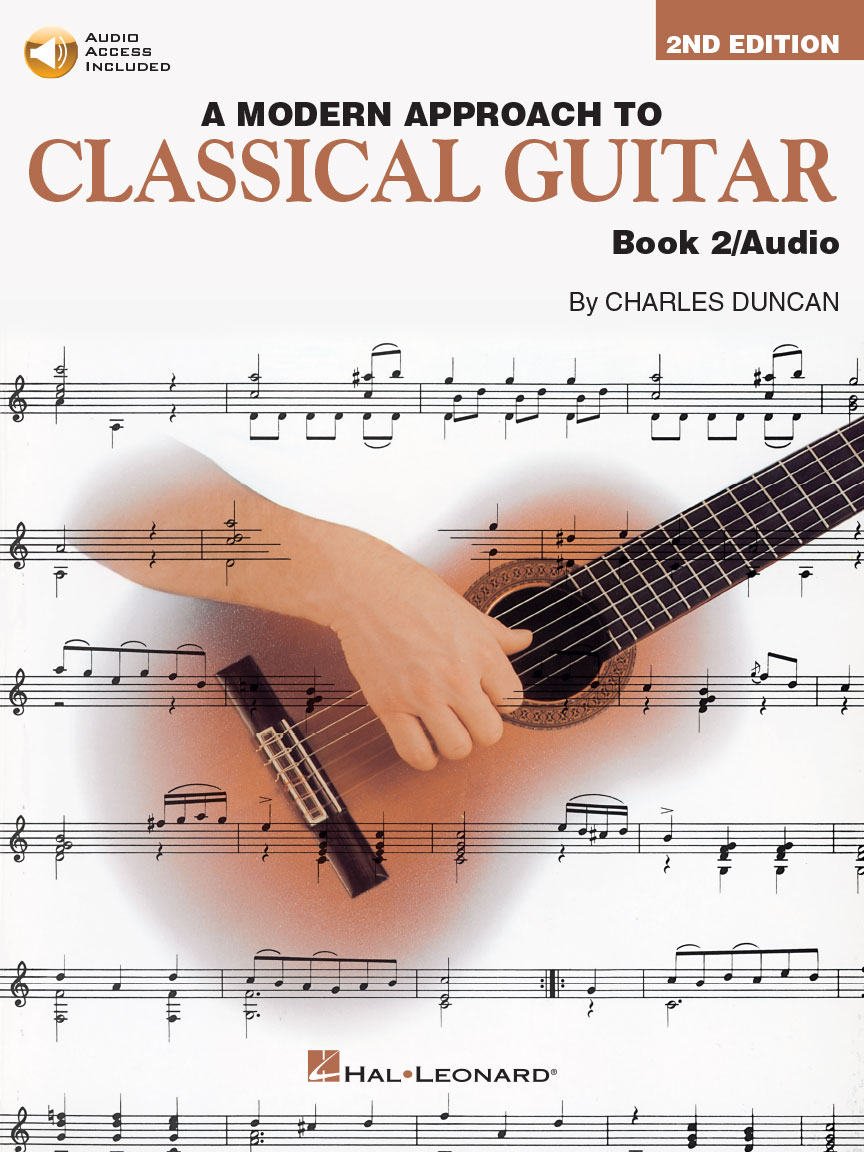 Product Cover for A Modern Approach to Classical Guitar – 2nd Edition