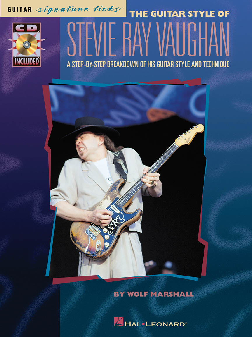 Product Cover for The Guitar Style of Stevie Ray Vaughan