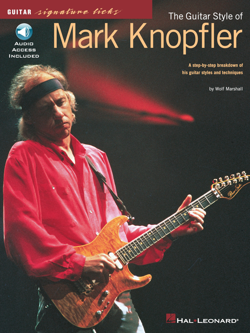 Product Cover for The Guitar Style of Mark Knopfler