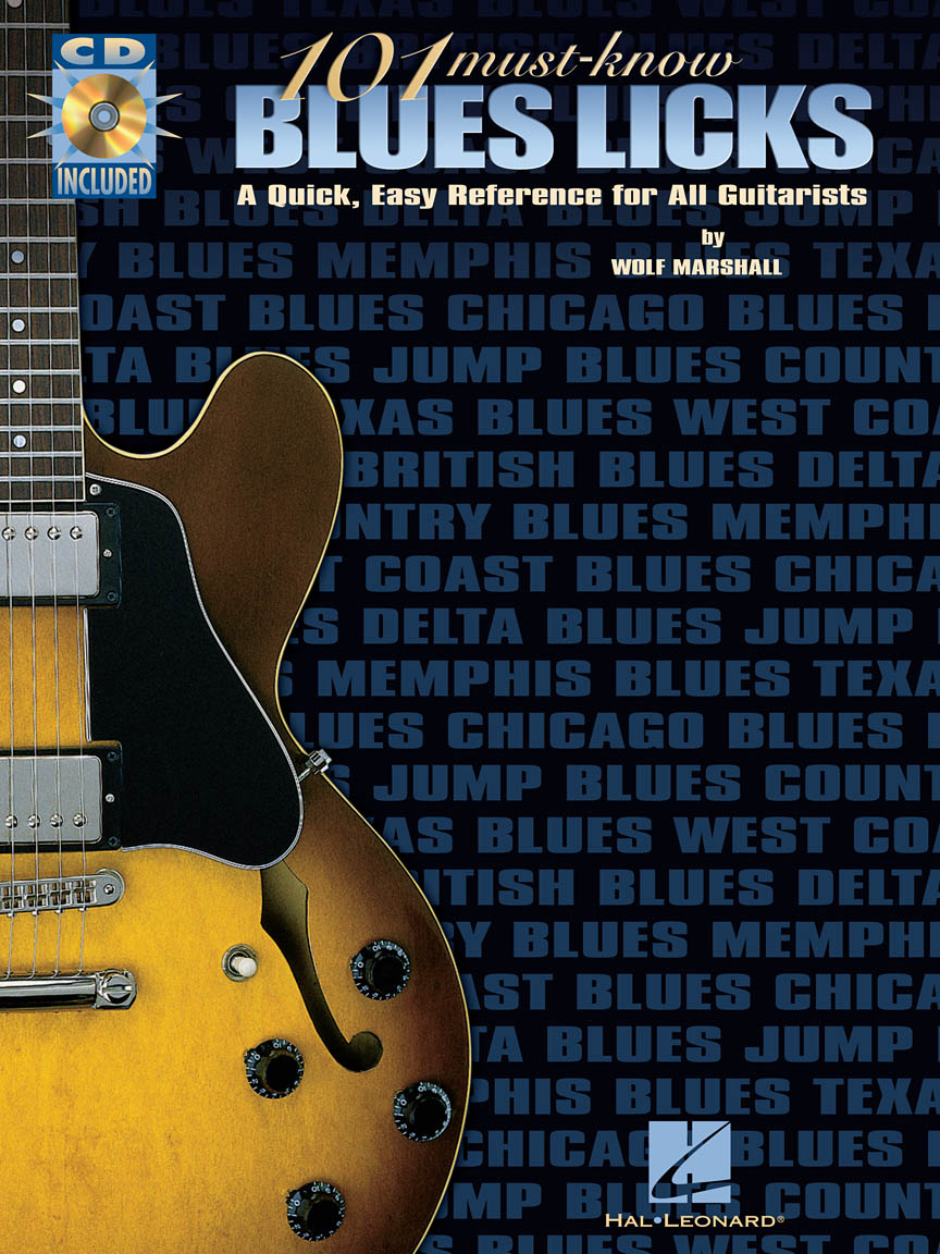 Product Cover for 101 Must-Know Blues Licks