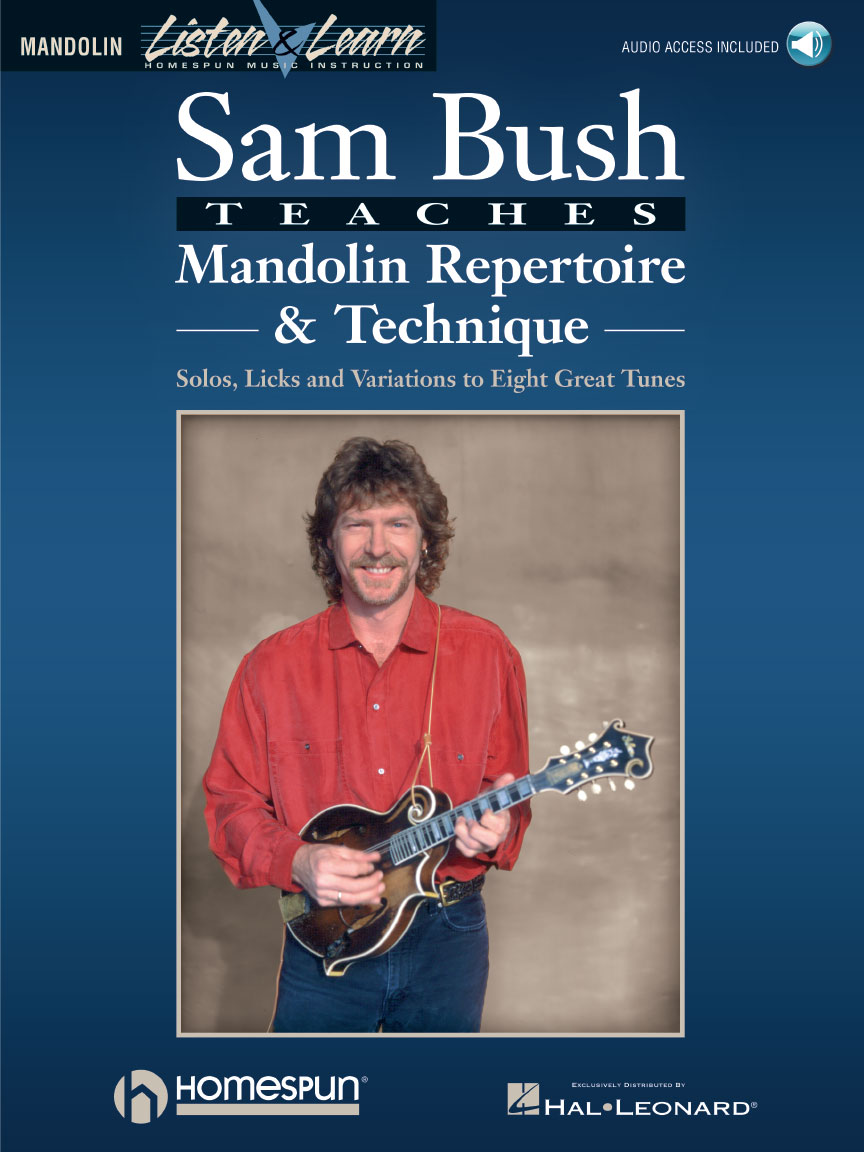 Product Cover for Sam Bush Teaches Mandolin Repertoire & Technique