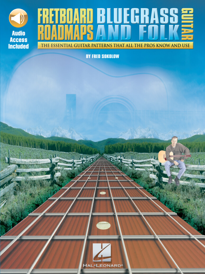 Product Cover for Fretboard Roadmaps – Bluegrass and Folk Guitar