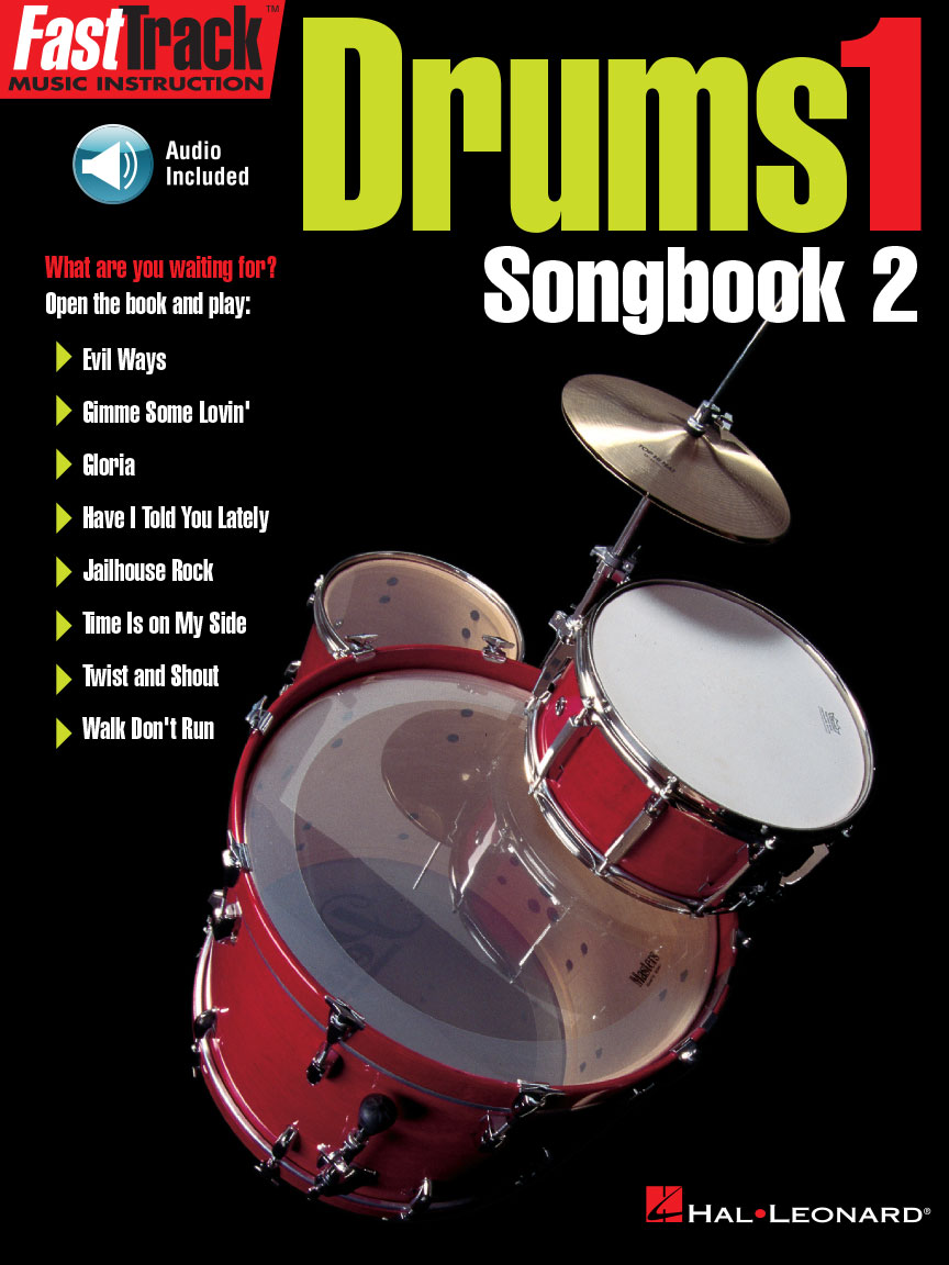 Product Cover for FastTrack Drums Songbook 2 – Level 1