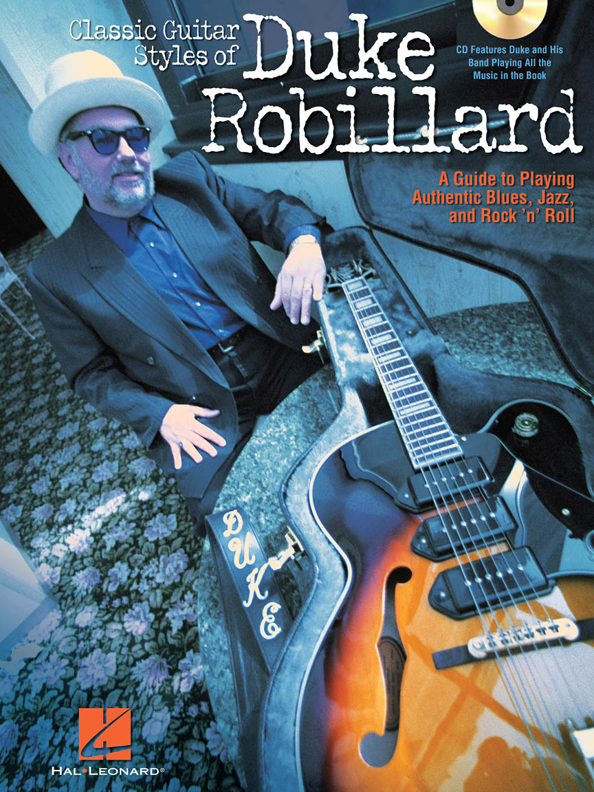 Product Cover for Classic Guitar Styles of Duke Robillard