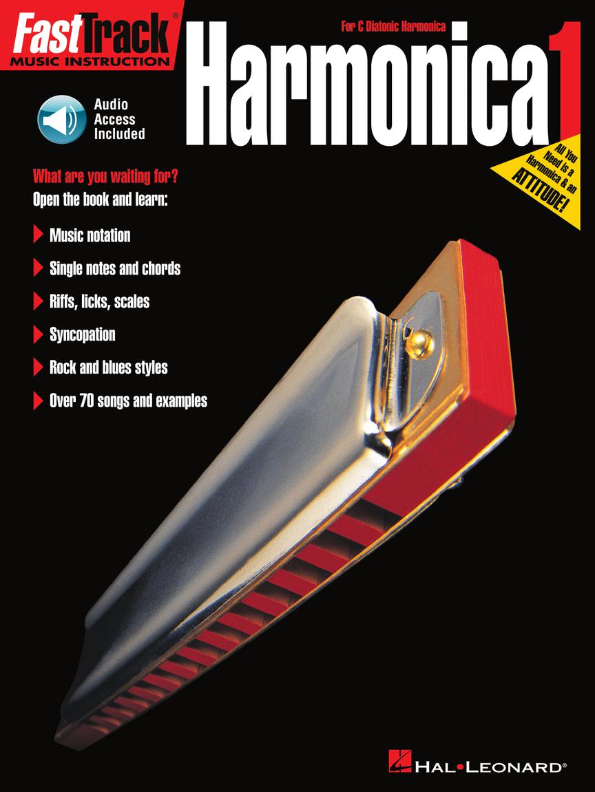 Product Cover for FastTrack Harmonica Method – Book 1