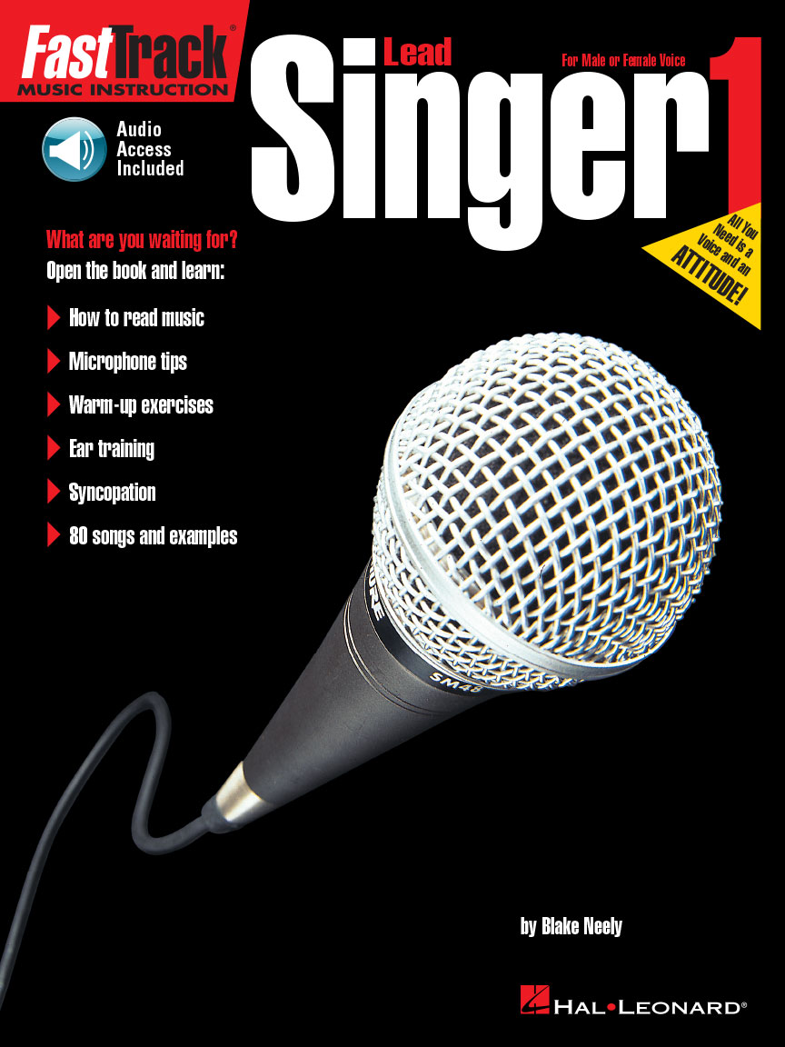 Product Cover for FastTrack Lead Singer Method – Book 1