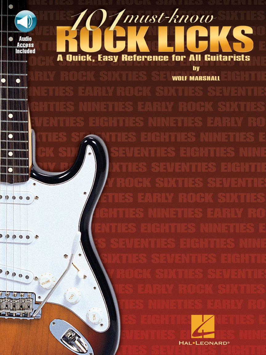 Product Cover for 101 Must-Know Rock Licks
