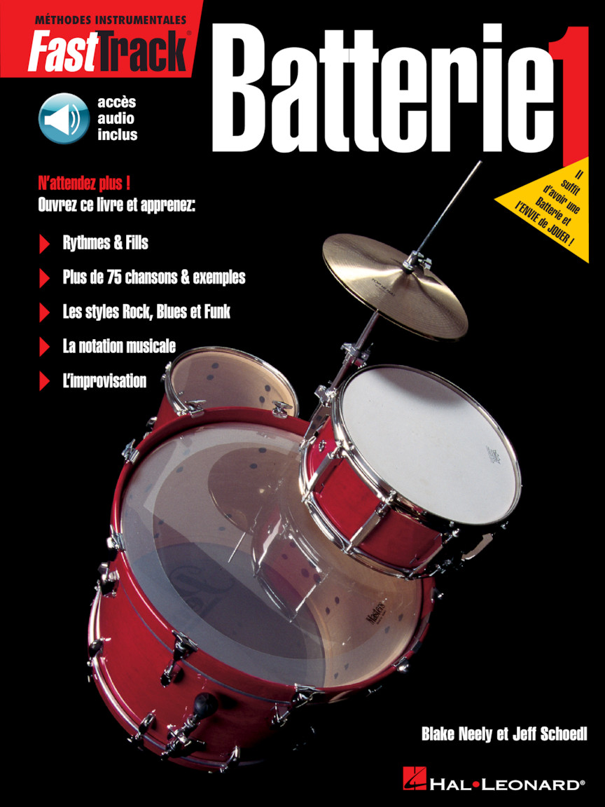 Product Cover for FastTrack Drum Method – Book 1 – French Edition