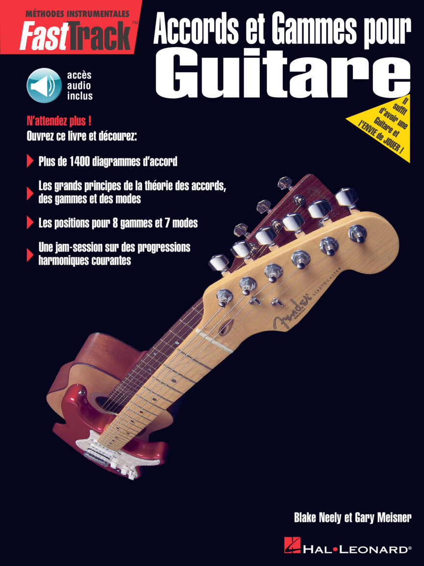 Product Cover for FastTrack Guitar Chords & Scales – French Edition