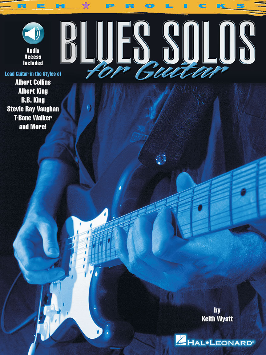 Product Cover for Blues Solos for Guitar