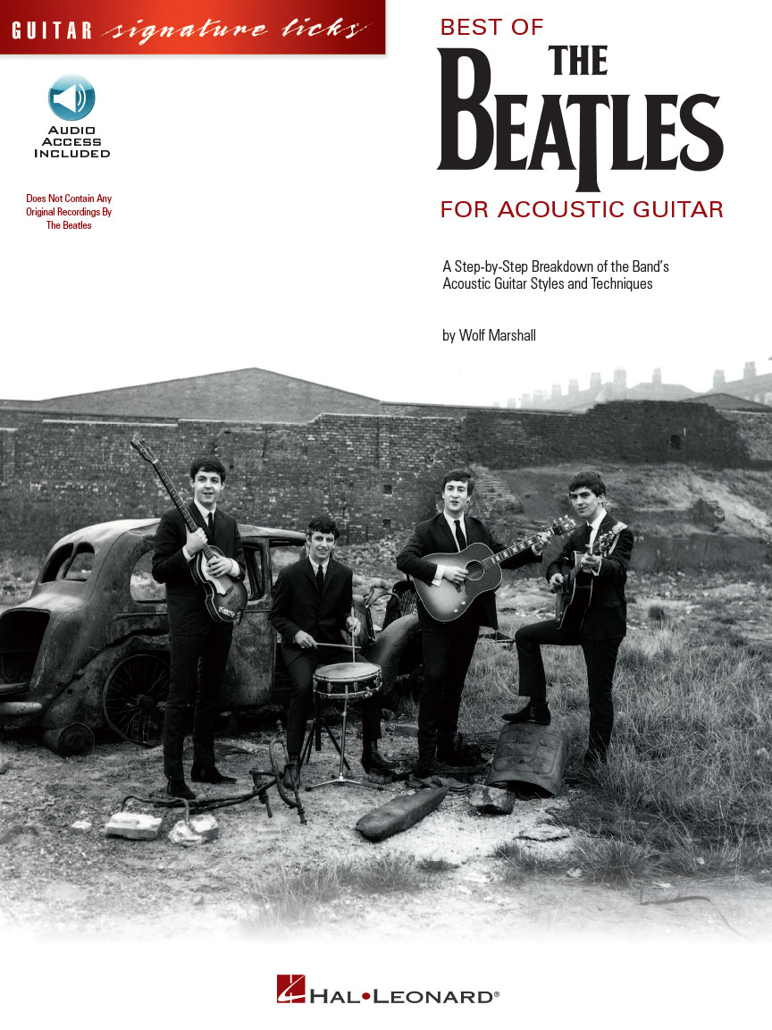 Product Cover for Best of the Beatles for Acoustic Guitar