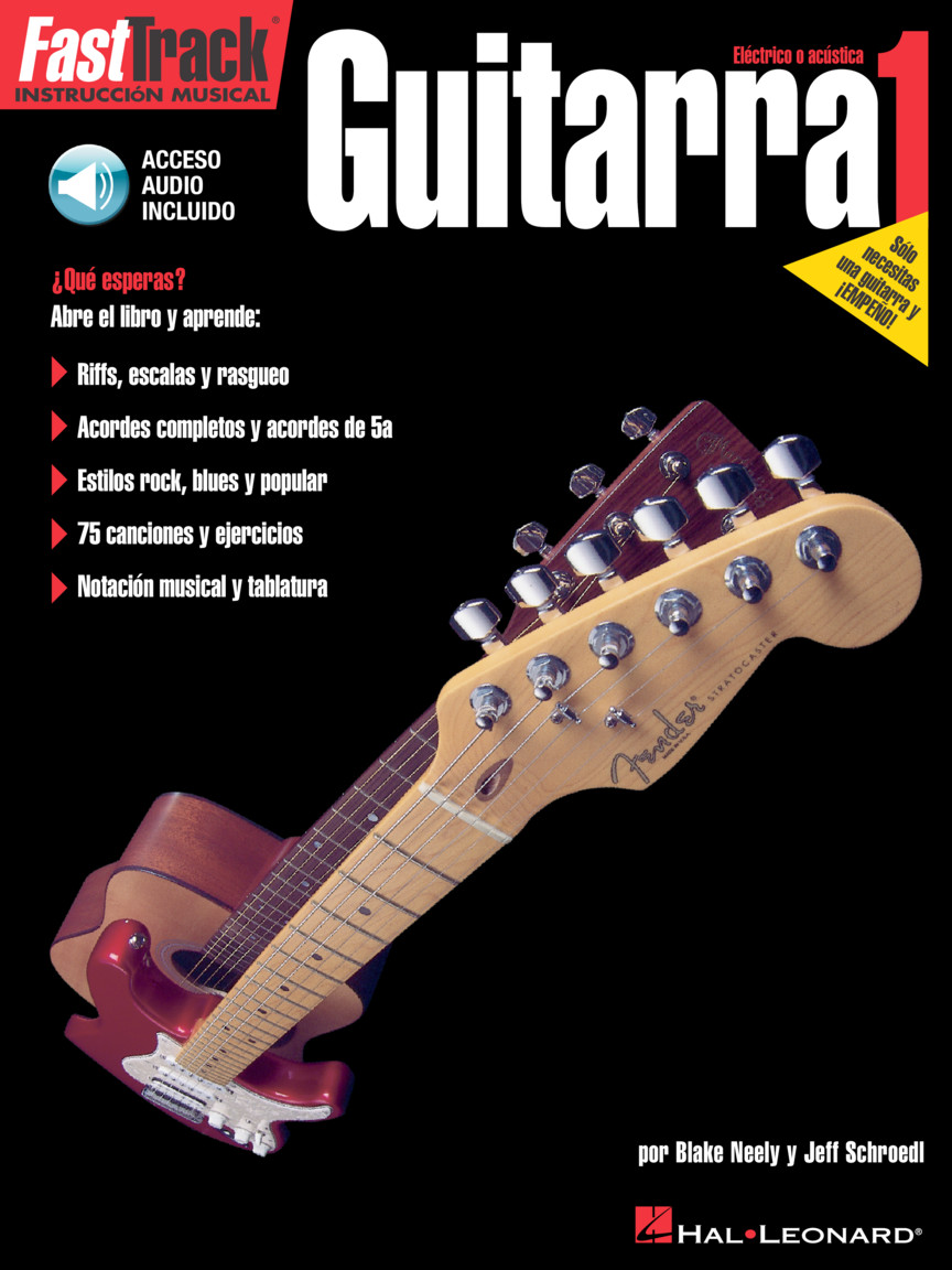 Product Cover for FastTrack Guitar Method – Spanish Edition - Level 1