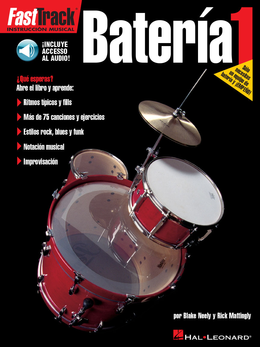 Product Cover for FastTrack Drum Method – Spanish Edition – Level 1