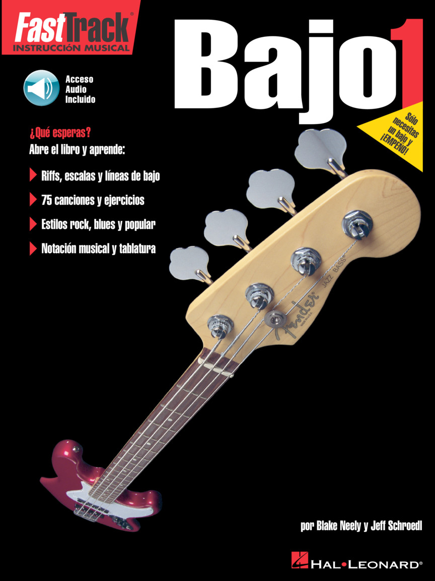 Product Cover for FastTrack Bass Method 1 – Spanish Edition