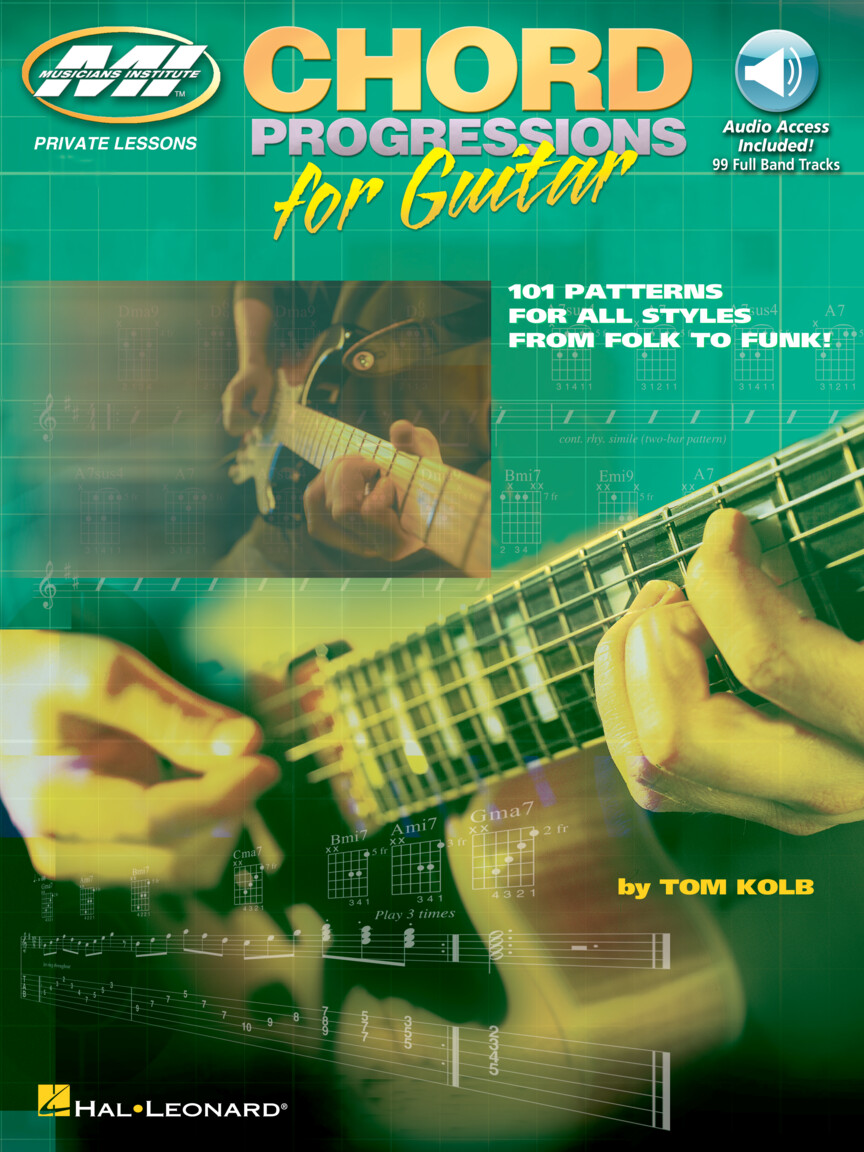 Product Cover for Chord Progressions for Guitar