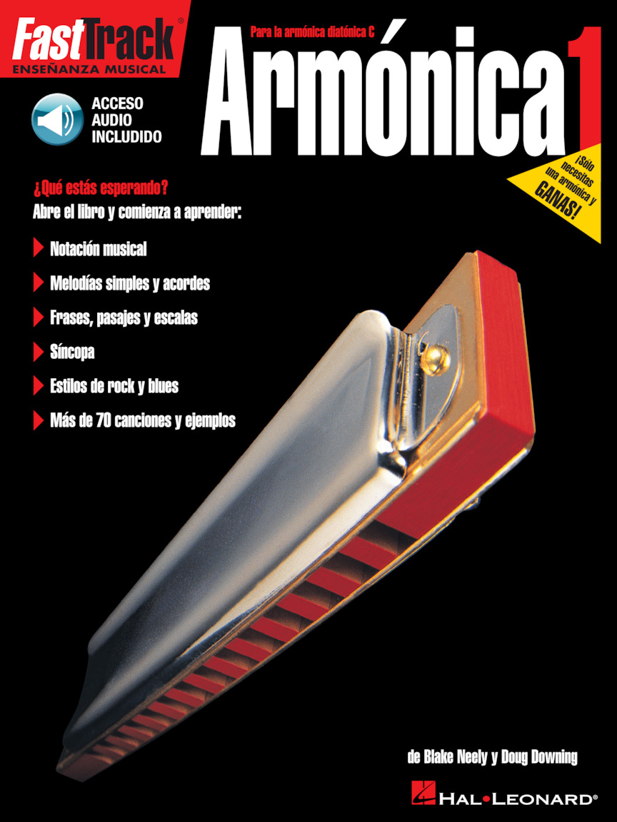Product Cover for FastTrack Harmonica Method – Spanish Edition