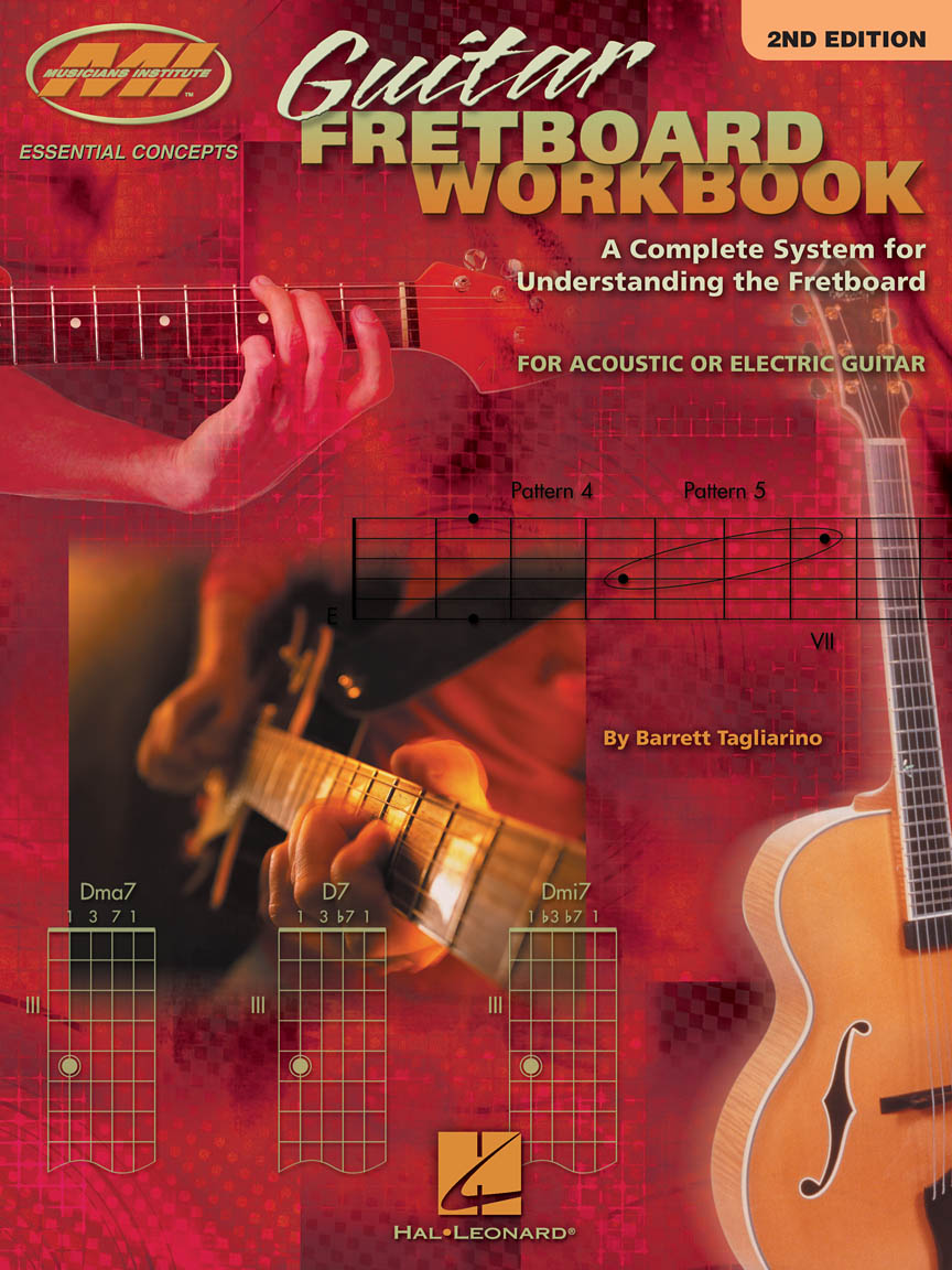 Product Cover for Guitar Fretboard Workbook – 2nd Edition