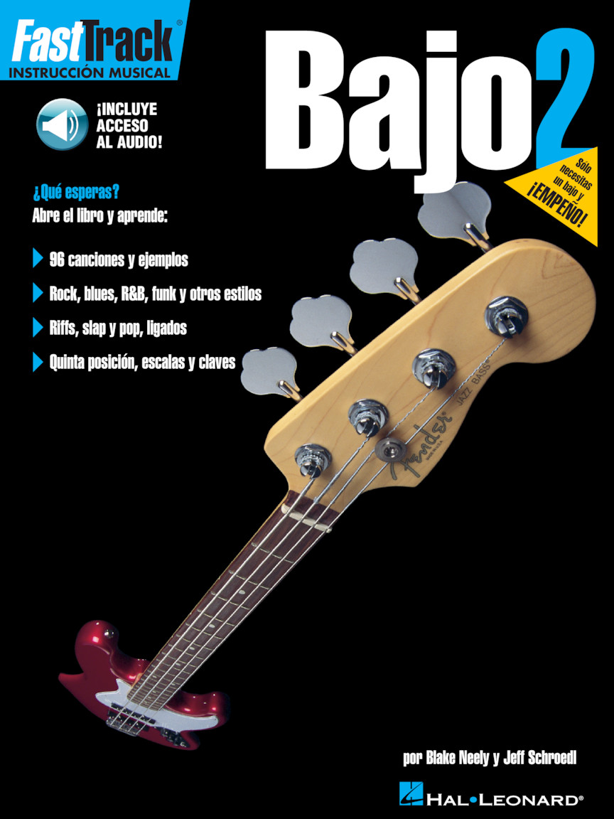 Product Cover for FastTrack Bass Method 2 – Spanish Edition