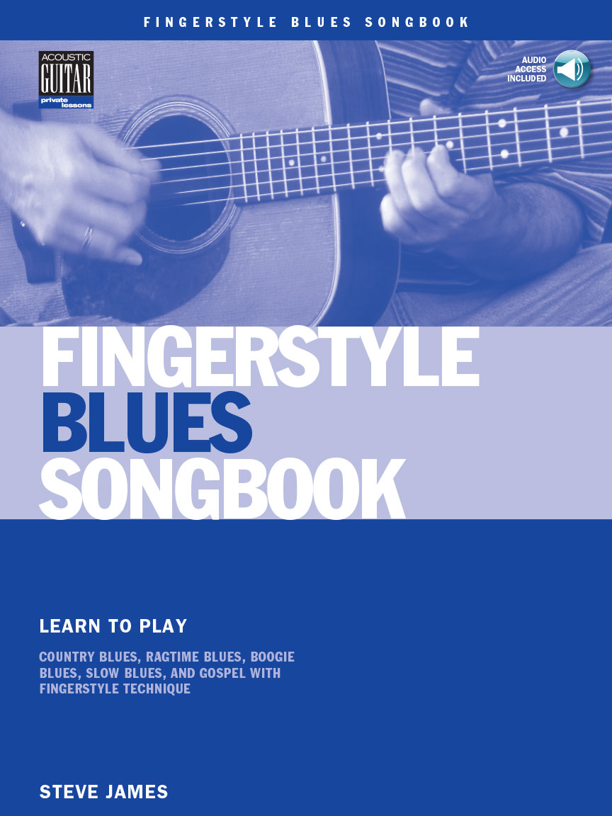 Product Cover for Fingerstyle Blues Songbook