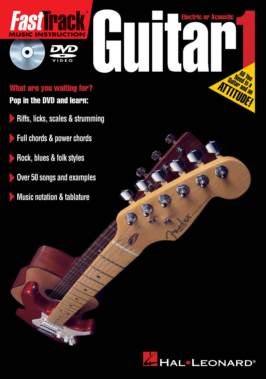 Product Cover for FastTrack Guitar Method 1