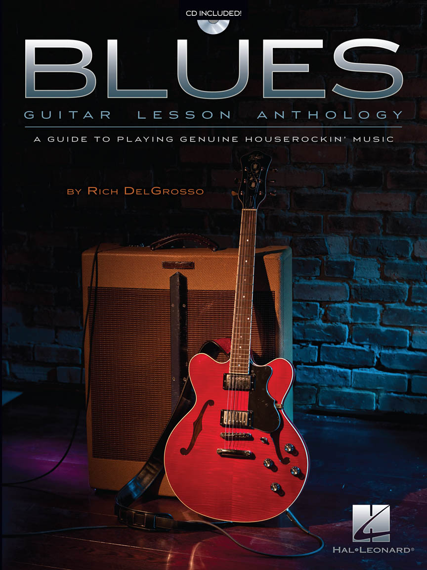 Product Cover for Blues Guitar Lesson Anthology