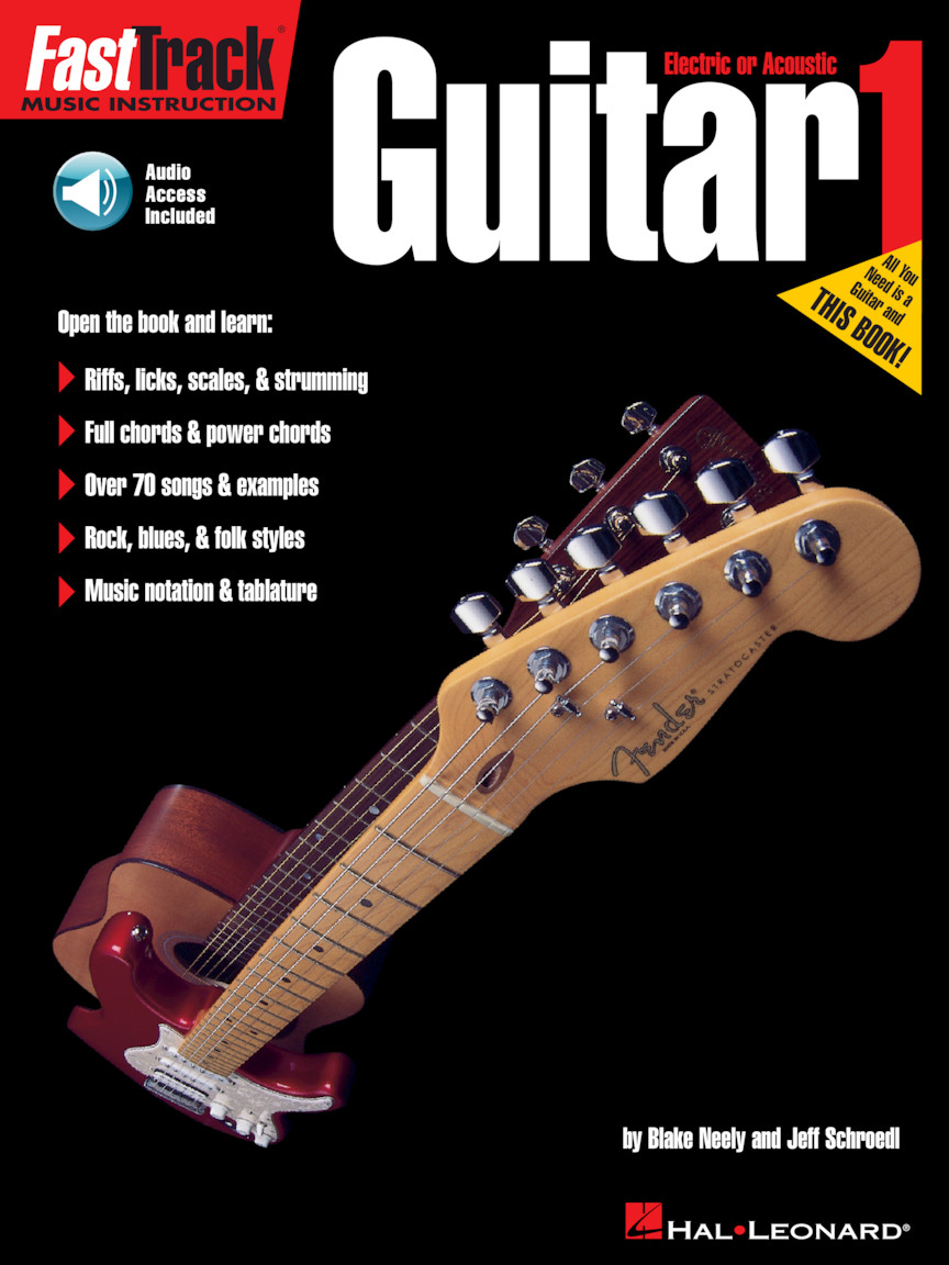 Product Cover for FastTrack Guitar Method Starter Pack