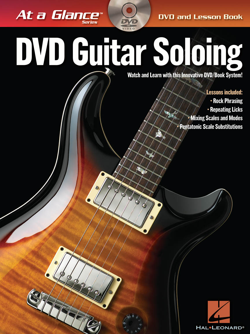 Product Cover for Guitar Soloing – At a Glance
