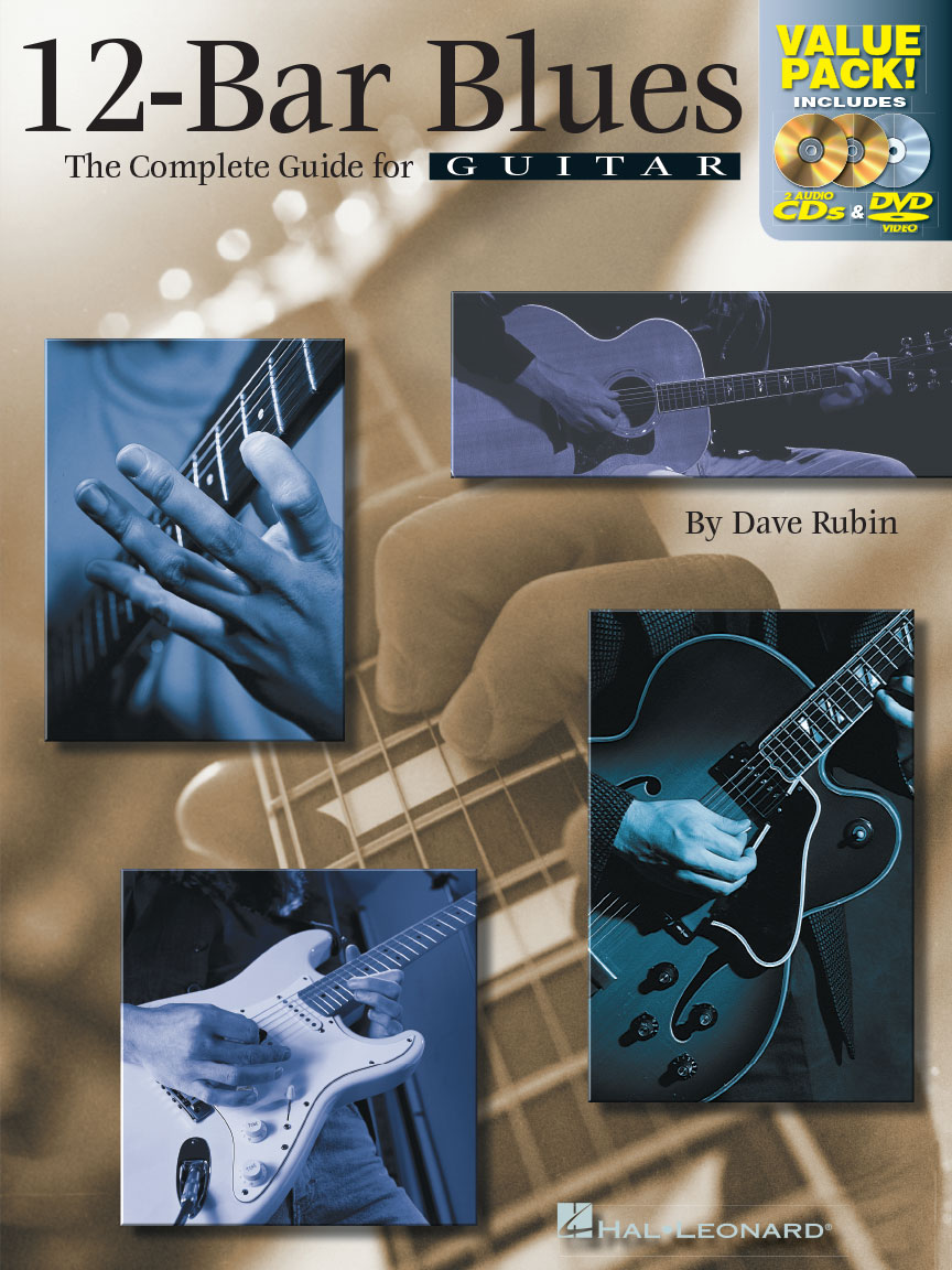 Product Cover for 12-Bar Blues – All-in-One Combo Pack