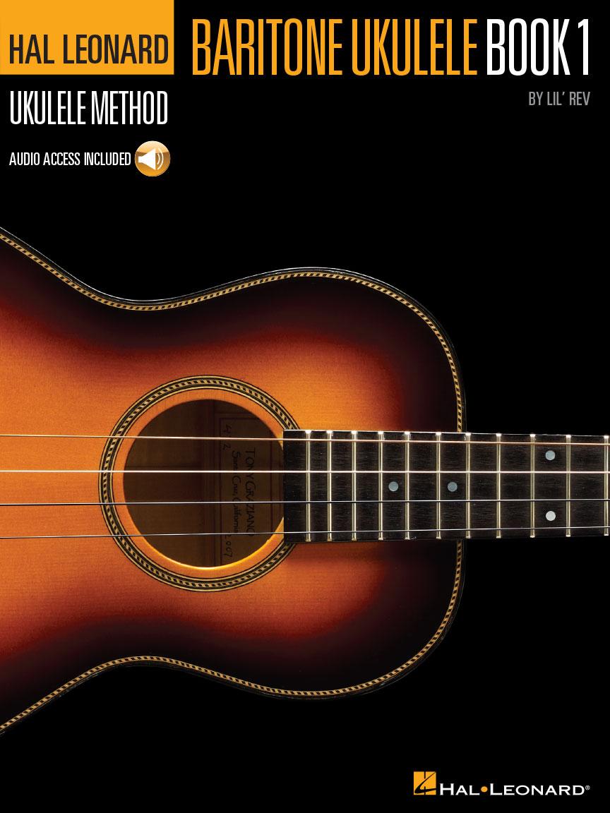 Product Cover for Hal Leonard Baritone Ukulele Method – Book 1