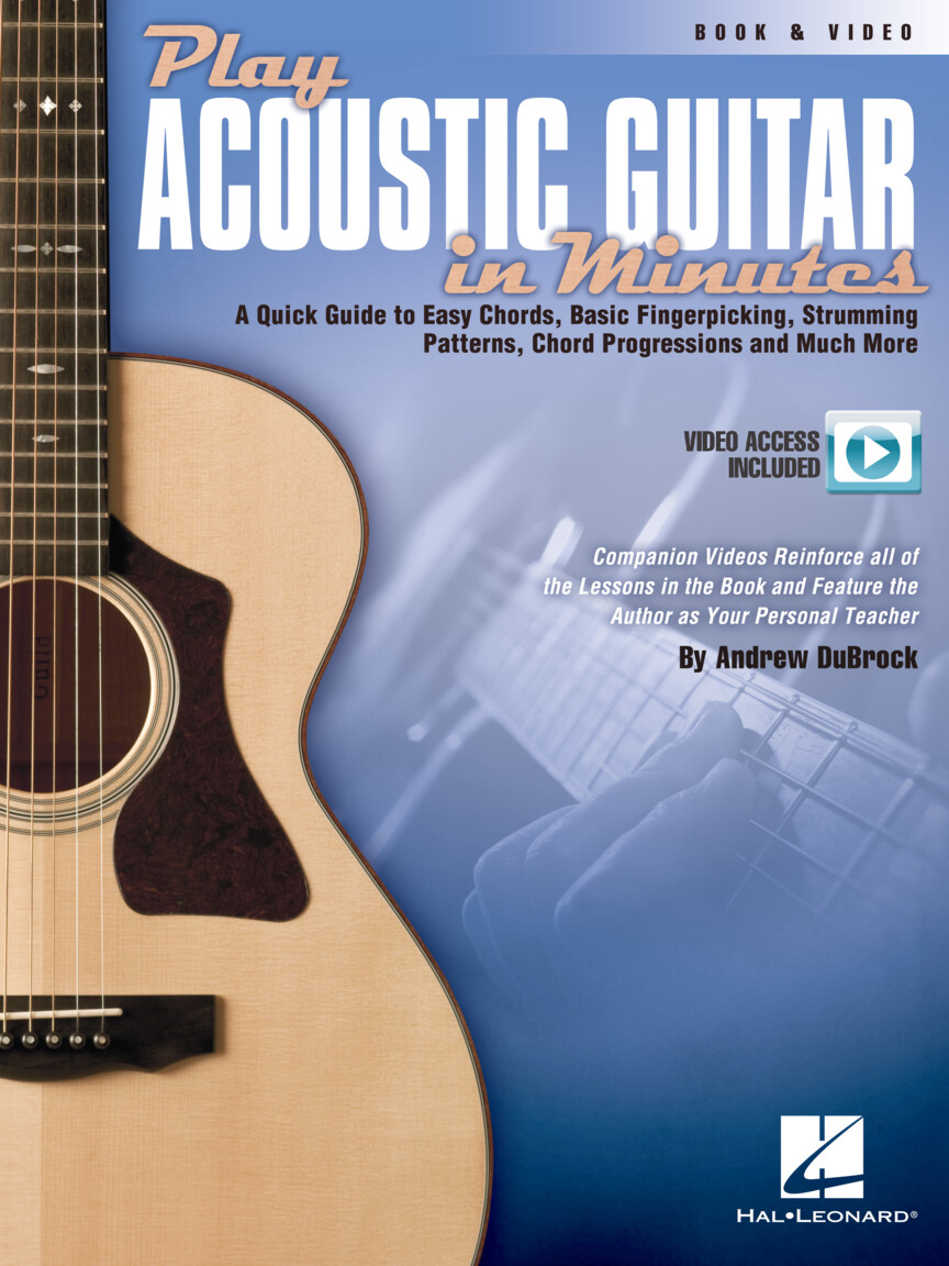 Product Cover for Play Acoustic Guitar in Minutes