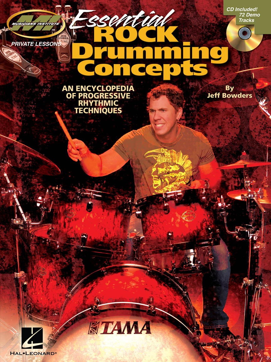 Product Cover for Essential Rock Drumming Concepts – An Encyclopedia of Progressive Rhythmic Techniques