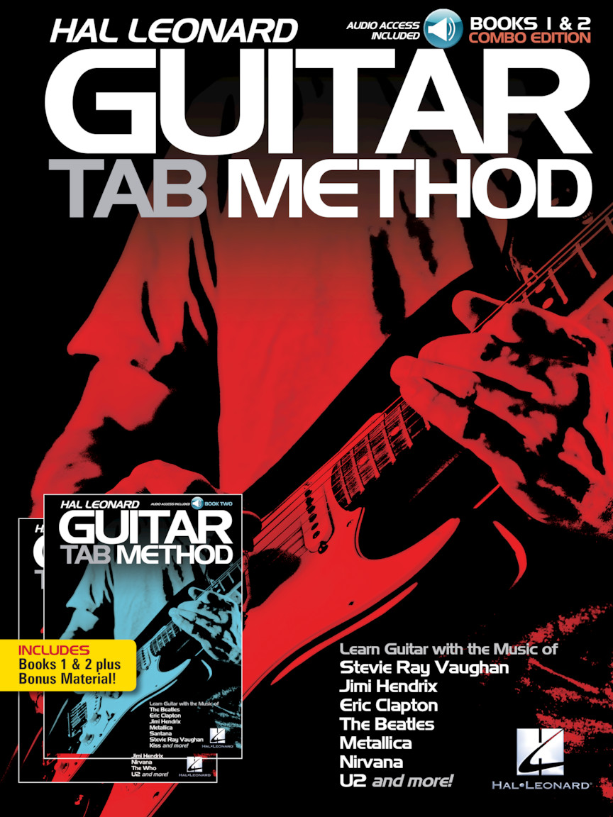 Hal Leonard Guitar Tab Method – Books 1 & 2 Combo Edition