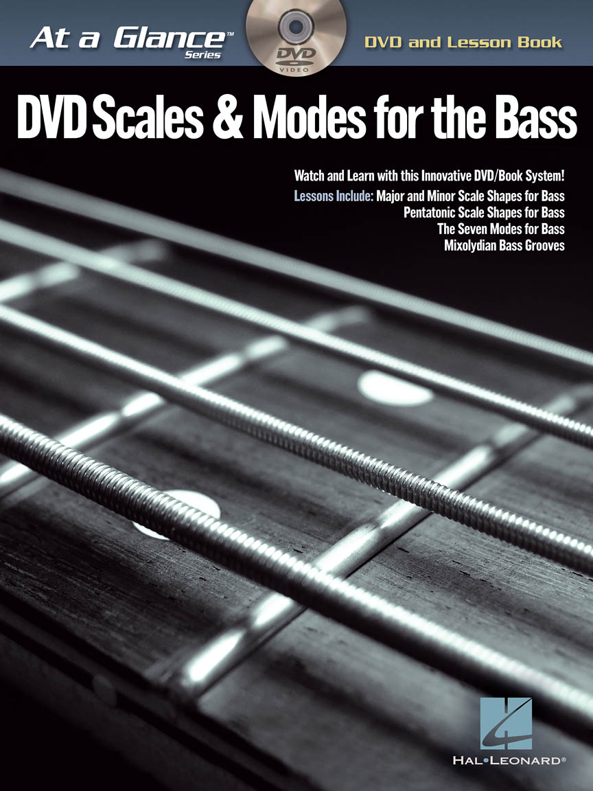 Product Cover for Scales & Modes for Bass – At a Glance