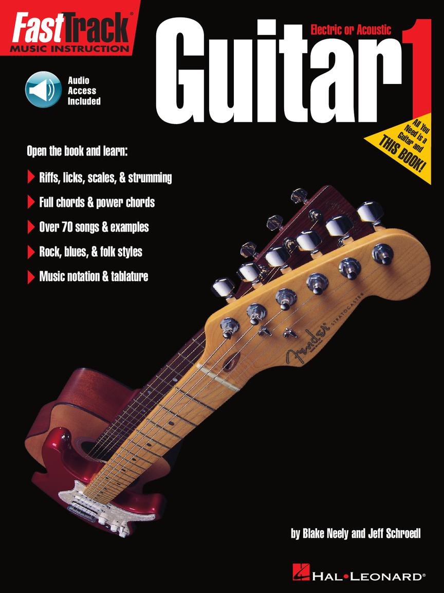 Product Cover for FastTrack Guitar Method – Book 1