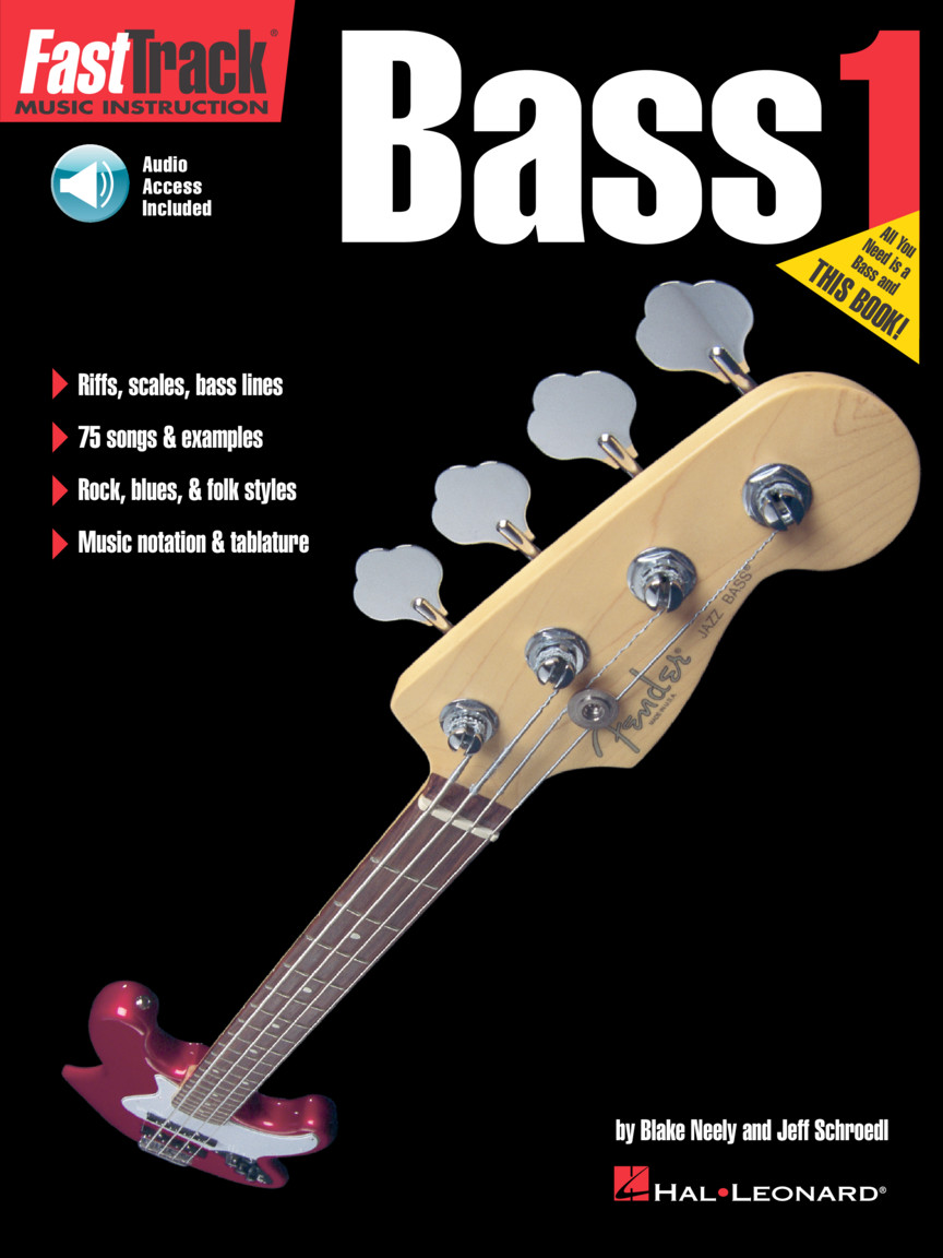 Product Cover for FastTrack Bass Method – Book 1