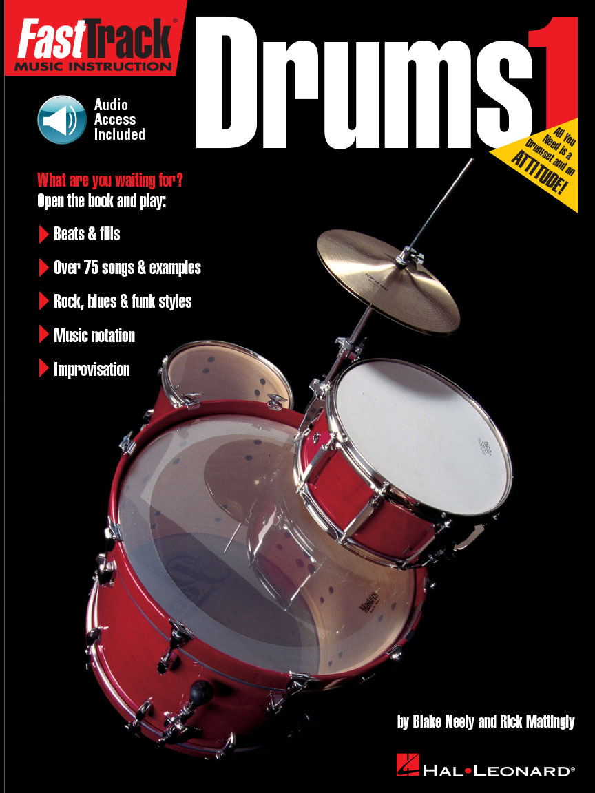 Product Cover for FastTrack Drums Method – Book 1