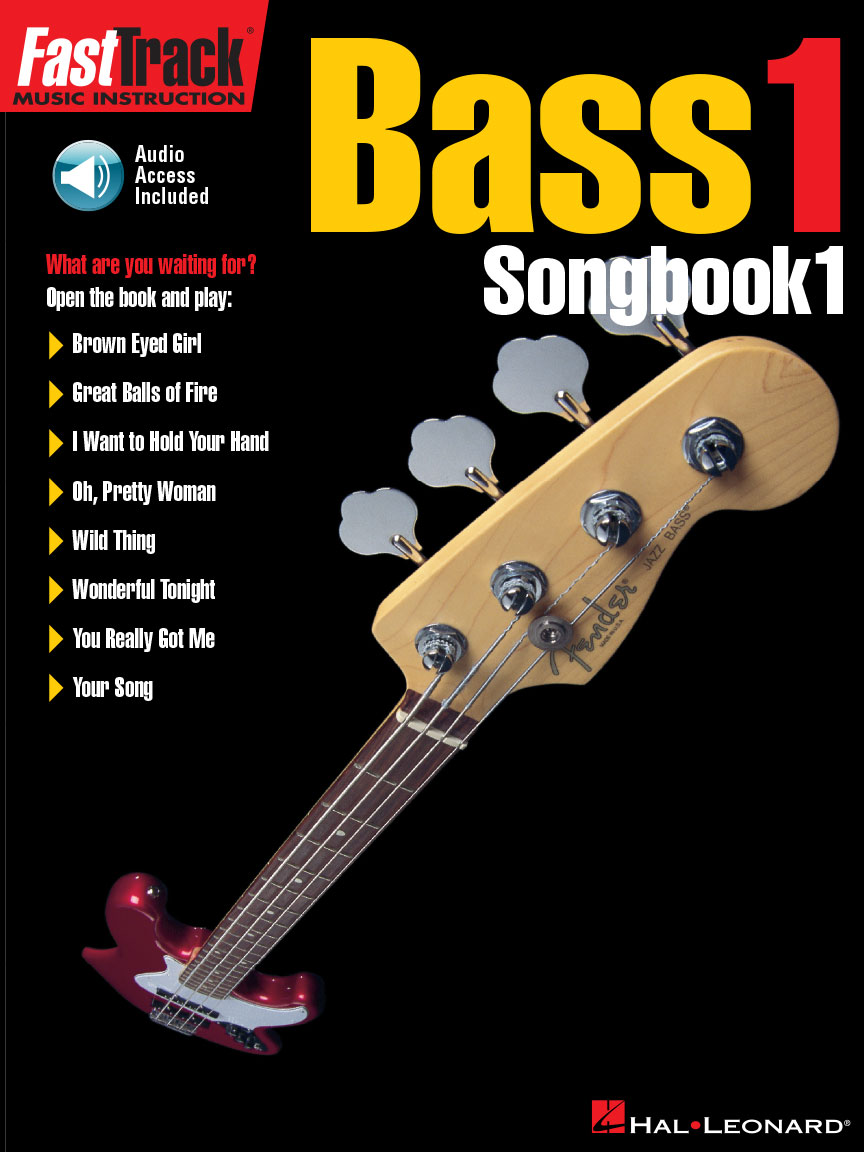 Product Cover for FastTrack Bass Songbook 1 – Level 1