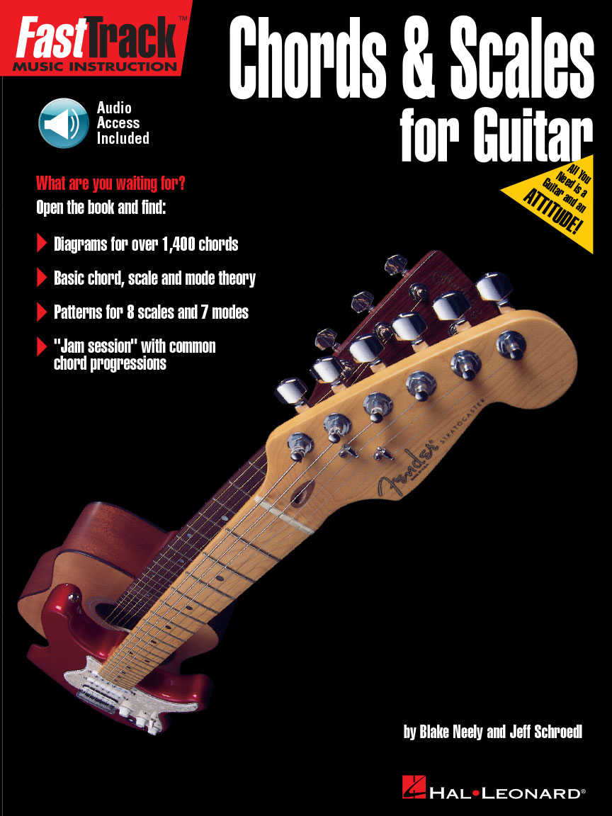 Product Cover for FastTrack Guitar Method – Chords & Scales
