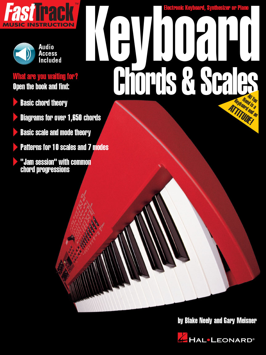 Product Cover for FastTrack Keyboard Method – Chords & Scales