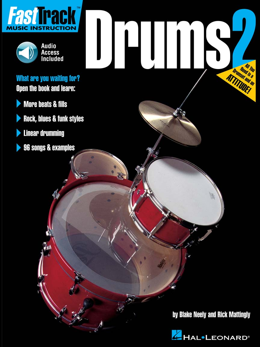 Product Cover for FastTrack Drums Method – Book 2