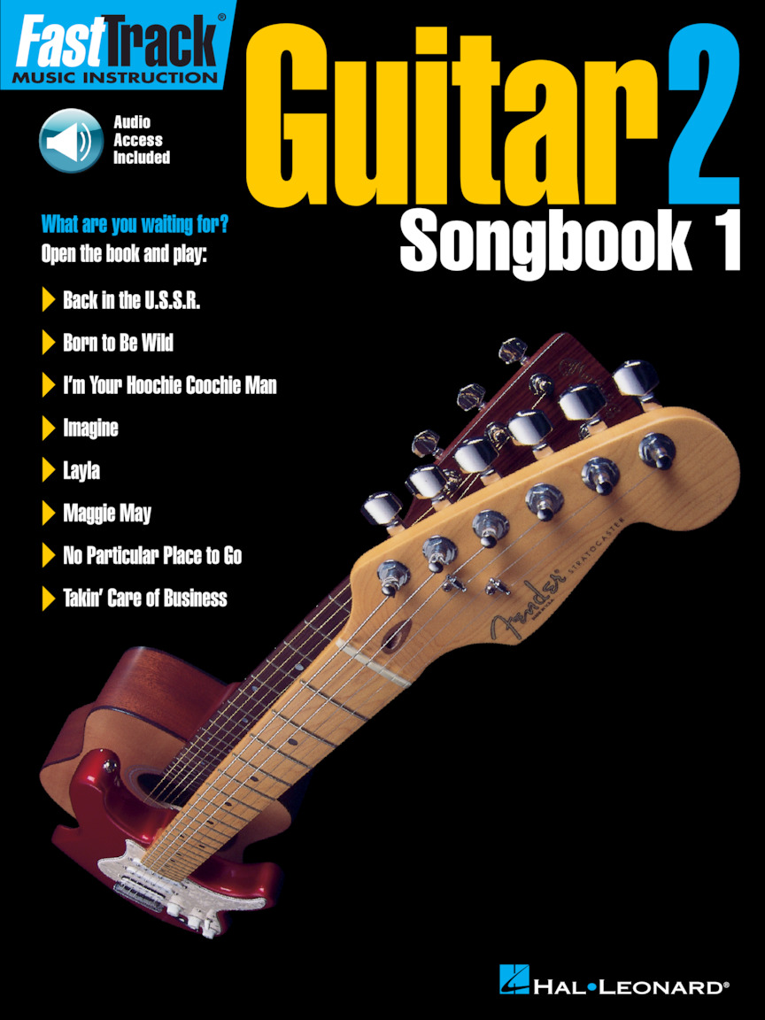 Product Cover for FastTrack Guitar Songbook 1 – Level 2