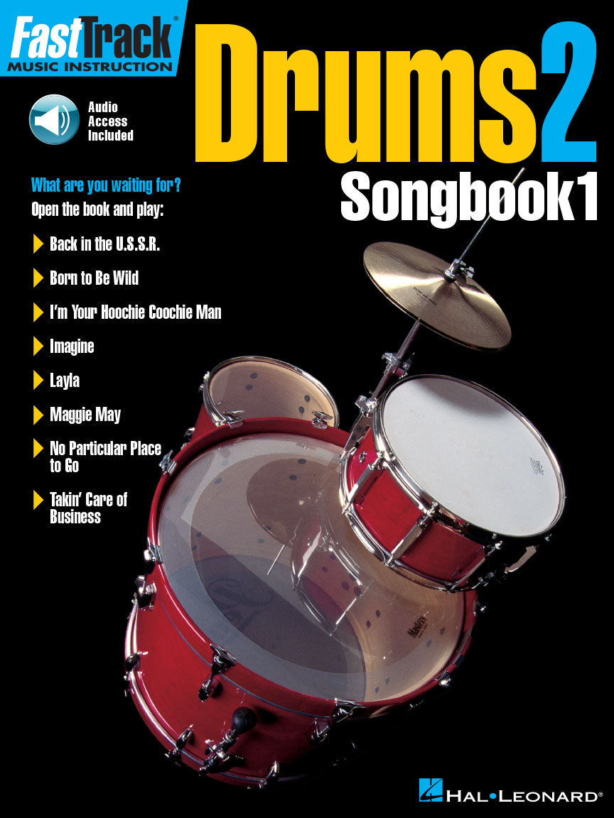 Product Cover for FastTrack Drums Songbook 1 – Level 2