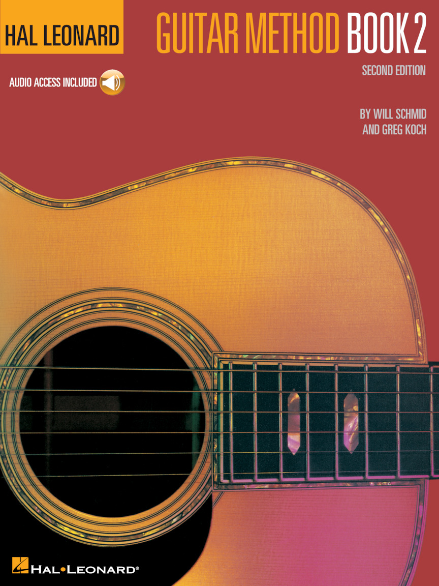 Product Cover for Hal Leonard Guitar Method Book 2 – Second Edition